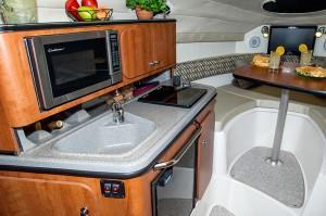 250cs cabin table setup