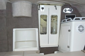 250cr cabin interior view